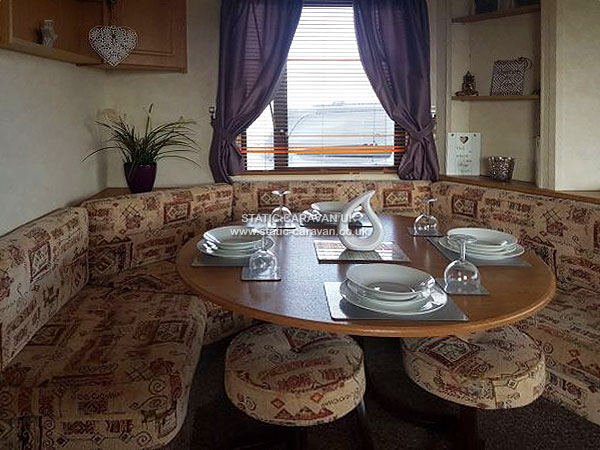 UK Private Static Caravan Holiday Hire at Sandylands, Saltcoats, Ayrshire, Scotland