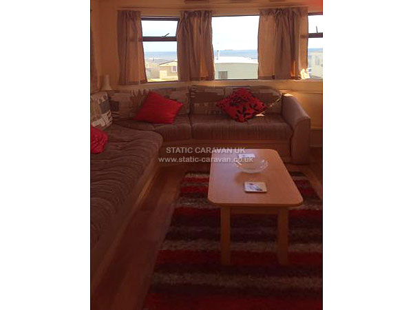 Popular UK Private Static Caravan Holiday Hire At Crimdon Dene Hartlepool
