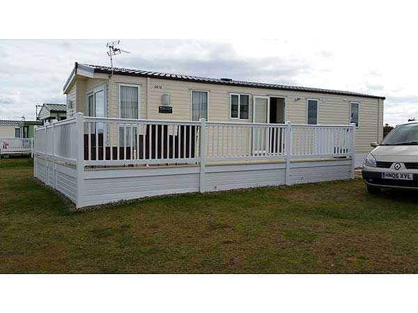 Simple  Static Caravan Holiday Hire At Braehead Stromness Orkney Scotland