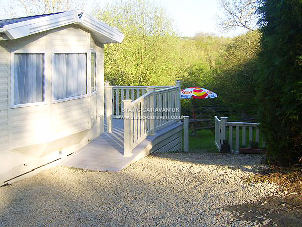 UK Private Static Caravan Holiday Hire at Parcllwyd, Cilgerran, Cardigan, Pembrokeshire, West Wales
