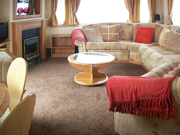 UK Private Static Caravan Holiday Hire at Reighton Sands, Nr Filey, Scarborough, North Yorkshire