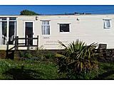 UK Private Static Caravan Hire at Upper Sandy Wells, Haverfordwest, Pembrokeshire, South Wales