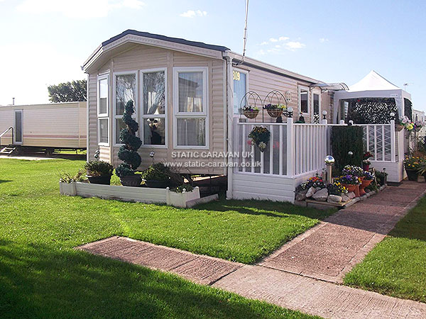 UK Private Static Caravan Holiday Hire at Marine Park, Rhyl, Denbighshire, North Wales