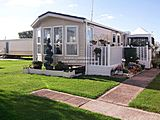 UK Private Static Caravan Hire at Marine Park, Rhyl, Denbighshire, North Wales