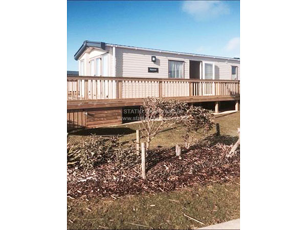 UK Private Static Caravan Holiday Hire at Perran Sands, Perranporth, Nr Newquay, Cornwall