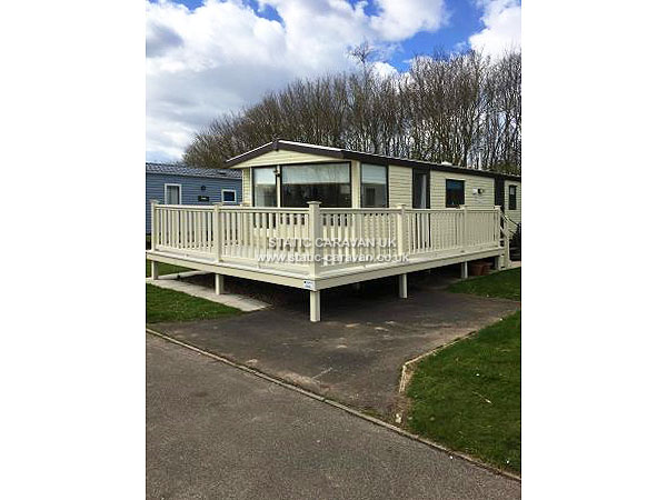 Model Bed Static Caravan Unserviced Plot Haven Thorpe Park Cleethorpes