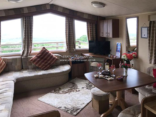 UK Private Static Caravan Holiday Hire at Private Land, Penmynydd, Holyhead, Anglesey, North Wales