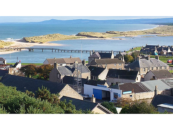 UK Private Static Caravan Holiday Hire at Lossiemouth Bay, East Beach, Moray, Scotland