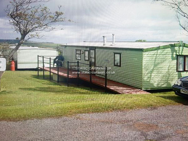 UK Private Static Caravan Holiday Hire at The Flask, Robin Hoods Bay, Nr Whitby, North Yorkshire