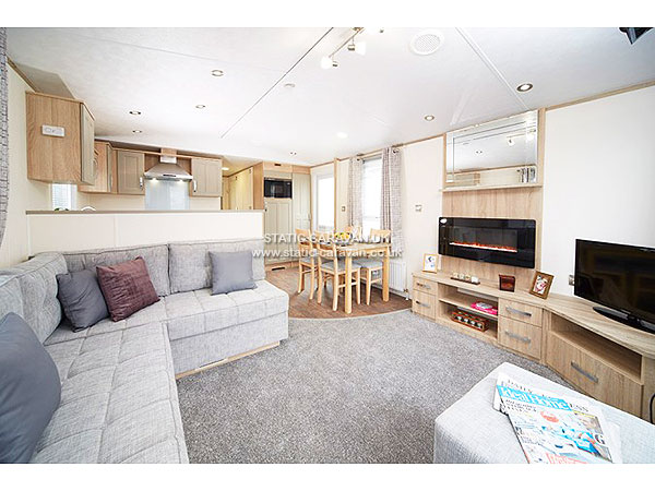 UK Private Static Caravan Holiday Hire at Elliotts Caravan Park, Hayling Island, Hampshire