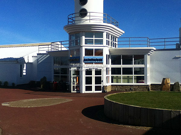 UK Private Static Caravan Holiday Hire at Whitley Bay, Tyne and Wear
