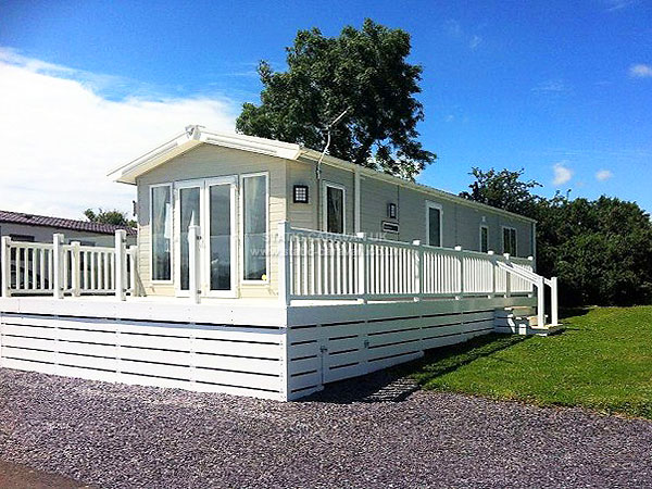 UK Private Static Caravan Holiday Hire at Glan Gors, Brynteg, Benllech, Anglesey, North Wales