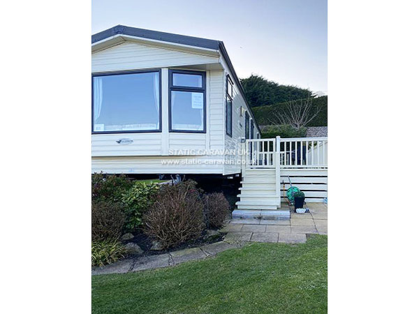 UK Private Static Caravan Holiday Hire at Penrhyn Hall Farm, Llandudno, Conwy, North Wales