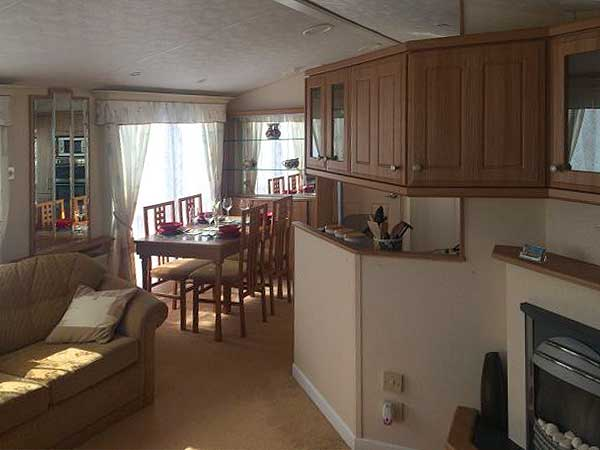 UK Private Static Caravan Holiday Hire at The Wolds, Ingoldmells, Skegness, Lincolnshire