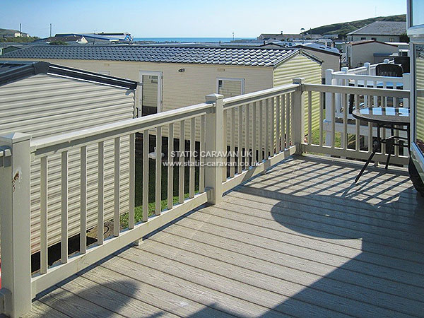 UK Private Static Caravan Holiday Hire at Challaborough Bay, Nr Bigbury on Sea, Devon