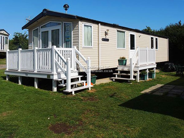 Simple  Private Static Caravan Holiday Hire At Weymouth Bay Weymouth Dorset