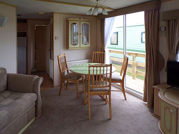 UK Private Static Caravan Holiday Hire at Aberystwyth Holiday Village, Ceredigion, West Wales