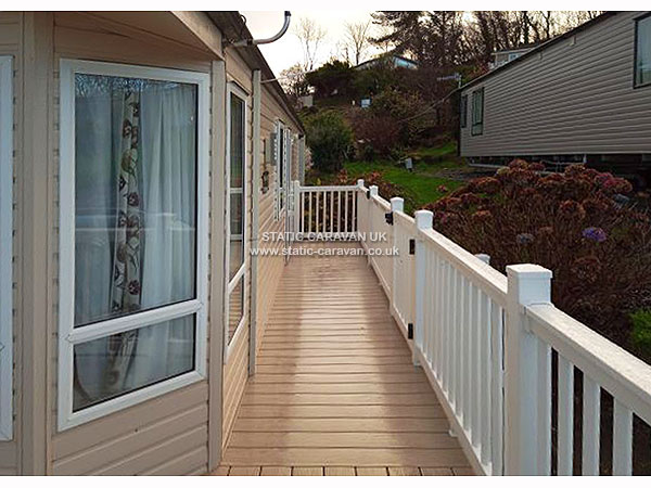UK Private Static Caravan Holiday Hire at Brynowen, Borth, Nr Aberystwyth, Ceredigion, West Wales