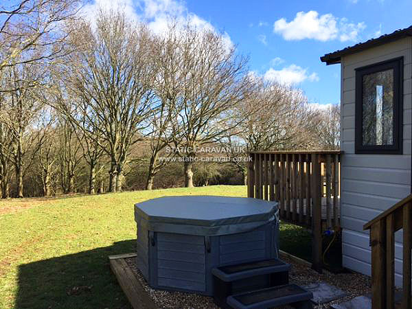UK Private Static Caravan Holiday Hire at Private Land, Newbourne, Nr Felixstowe, Suffolk