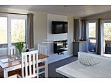 UK Private Static Caravan Hire at Private Land, Newbourne, Nr Felixstowe, Suffolk