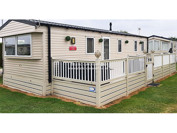 Lastest UK Private Static Caravan Holiday Hire At Seaview Whitstable Kent