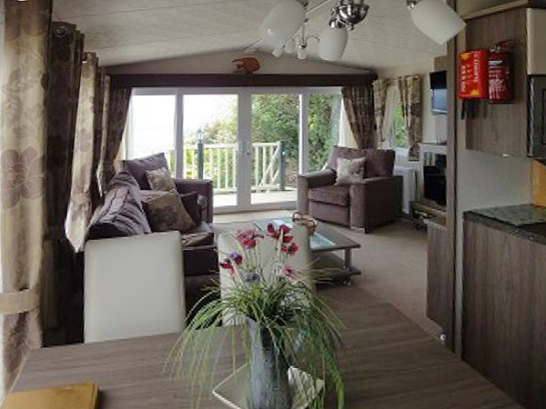 Awesome Caravan For Hire At Hoburne Devon Bay In Torquay To Rent In Paignton