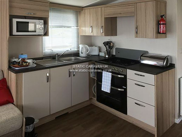 UK Private Static Caravan Holiday Hire at Gorselands, West Bexington-on-Sea, Nr Bridport, Dorset