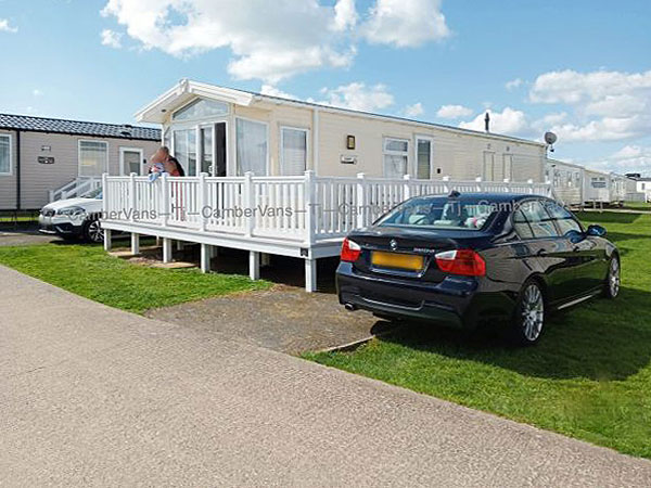UK Private Static Caravan Holiday Hire at Camber Sands, Nr.Rye, East Sussex