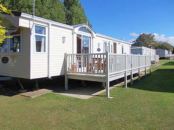 Brilliant Berth Pet Friendly Caravan For Hire Manor Park Hunstanton