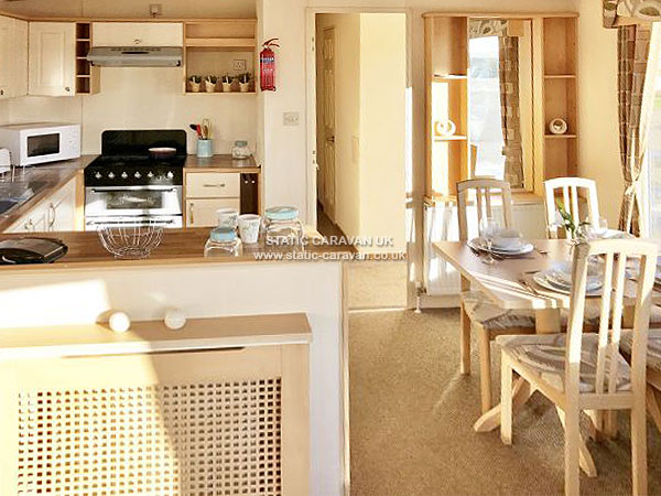UK Private Static Caravan Holiday Hire at Heacham Beach, Nr Kings Lynn, Norfolk