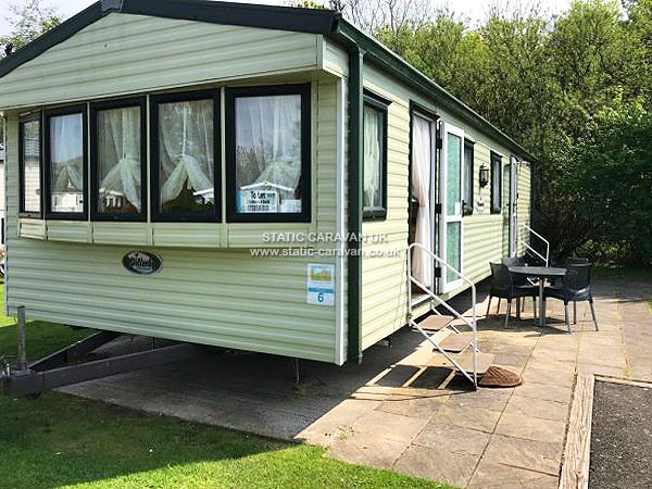 Unique Caravan For Hire At Haven Berwick Holiday Park UK Caravan Rental
