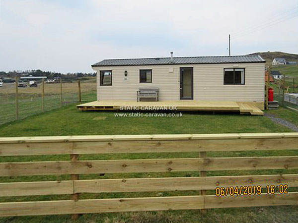 Awesome UK Private Static Caravan Holiday Hire At Aultbea Ross And Cromarty