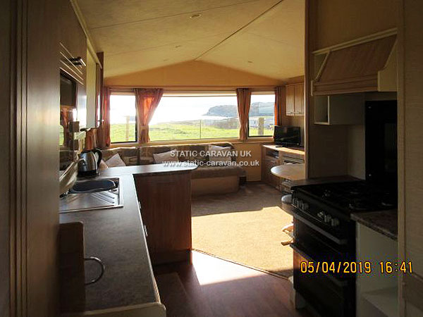 UK Private Static Caravan Holiday Hire at Aultbea, Ross and Cromarty, West Highlands, Scotland
