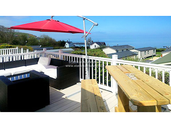 UK Private Static Caravan Holiday Hire at Quay West, New Quay, Ceredigion, West Wales
