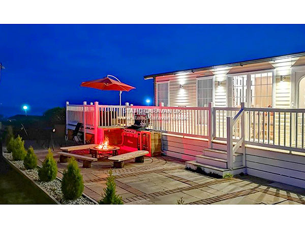 Luxury Quay West Holiday Park Haven Wales Caravan For Hire
