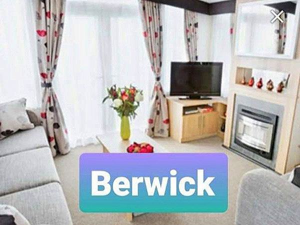 UK Private Static Caravan Holiday Hire at Berwick Holiday Centre, Berwick, Northumberland