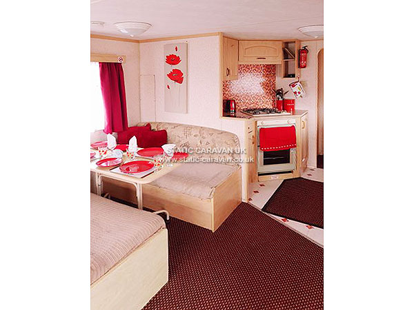 Pet Friendly Caravan Hire At Golden Gate Towyn Conwy