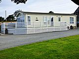 UK Private Static Caravan Hire at Garnedd Holiday Cottages, Llanfairpwll, Isle of Anglesey, North Wales