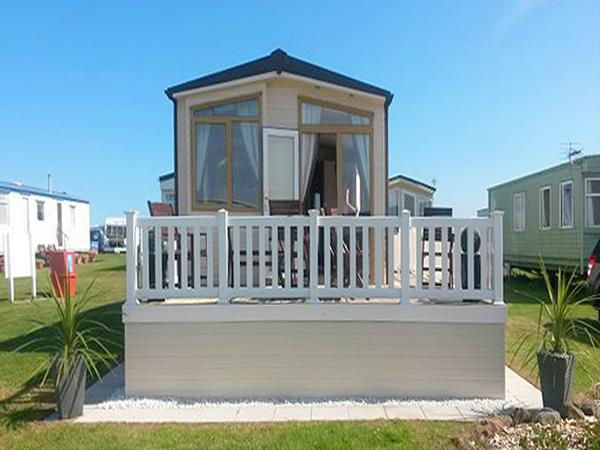 Elegant UK Private Static Caravan Holiday Hire At Eyemouth Berwickshire