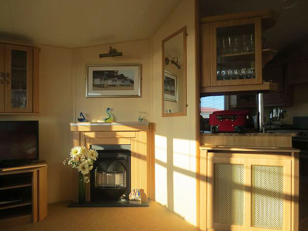 UK Private Static Caravan Holiday Hire at The Gap, East Runton, Cromer, Norfolk