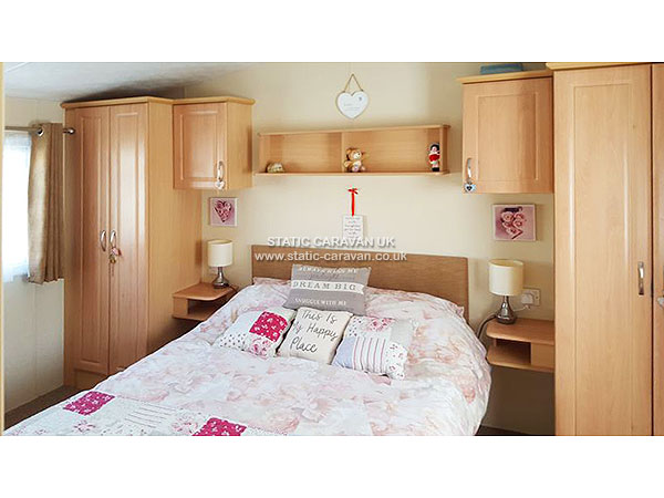 UK Private Static Caravan Holiday Hire at Clarach Bay, Aberystwyth, Ceredigion, West Wales