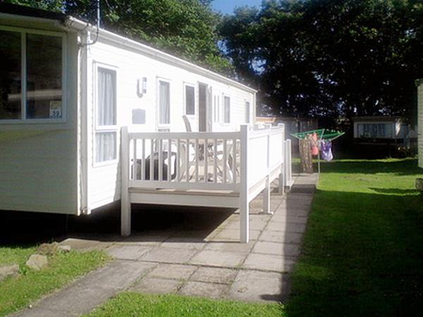 UK Private Static Caravan Holiday Hire at Cresswell Towers, Cresswell, Northumberland