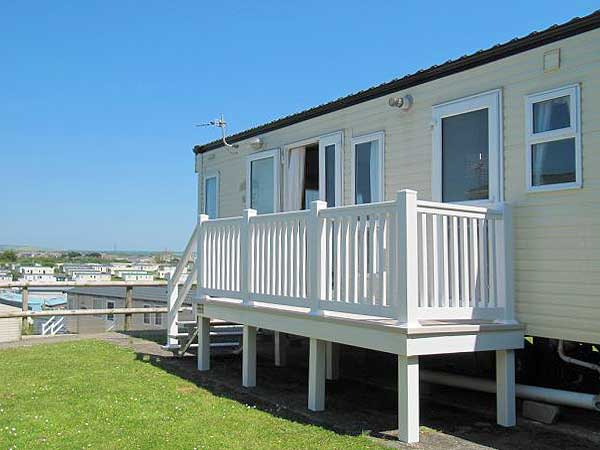 New  Caravan Holiday Hire At Cove Park Portland Nr Weymouth Dorset