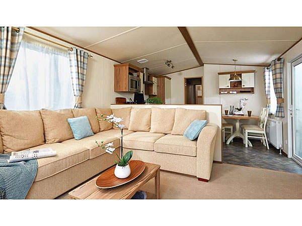 UK Private Static Caravan Holiday Hire at Turnberry, Girvan, Ayrshire, Scotland