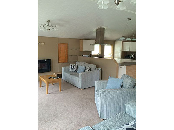 UK Private Static Caravan Holiday Hire at Haggerston Castle, Berwick Upon Tweed, Northumberland