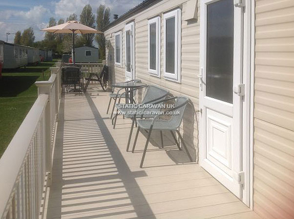 UK Private Static Caravan Holiday Hire at Richmond Holiday Centre, Skegness, Lincolnshire