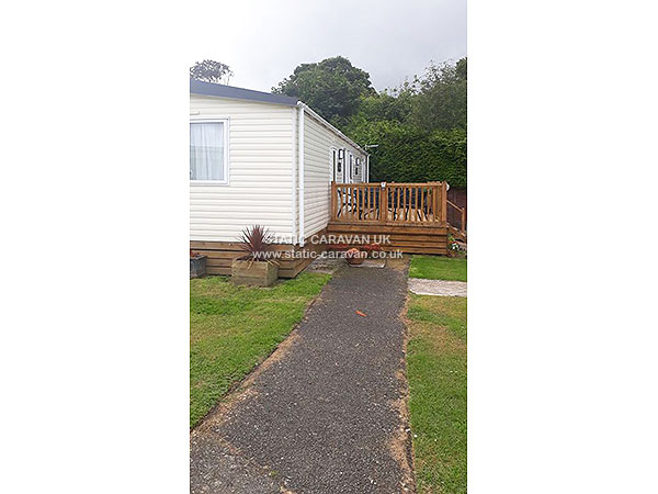 UK Private Static Caravan Holiday Hire at Trelawne Manor, Looe, Cornwall