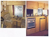 UK Private Static Caravan Hire at Woodland Waterfalls, Llanidloes, Powys, Mid Wales