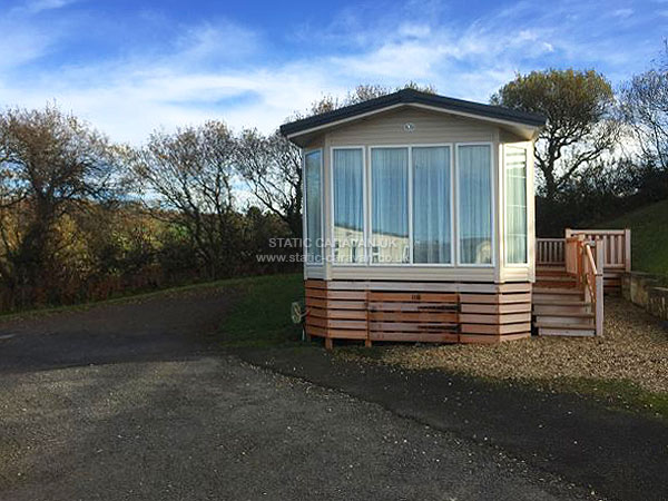 UK Private Static Caravan Holiday Hire at Widemouth Bay, Bude, Cornwall
