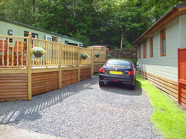 Fantastic  Static Caravan Holiday Hire At White Cross Bay Windermere Cumbria